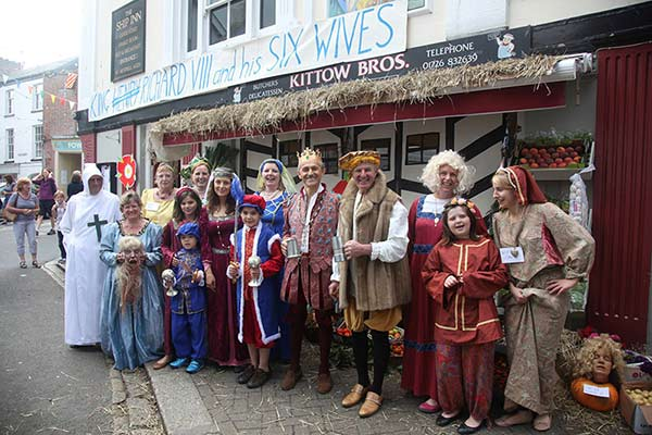 fowey regatta traders carnival