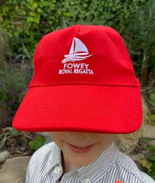 Fowey Regatta 2019 baseball cap detail