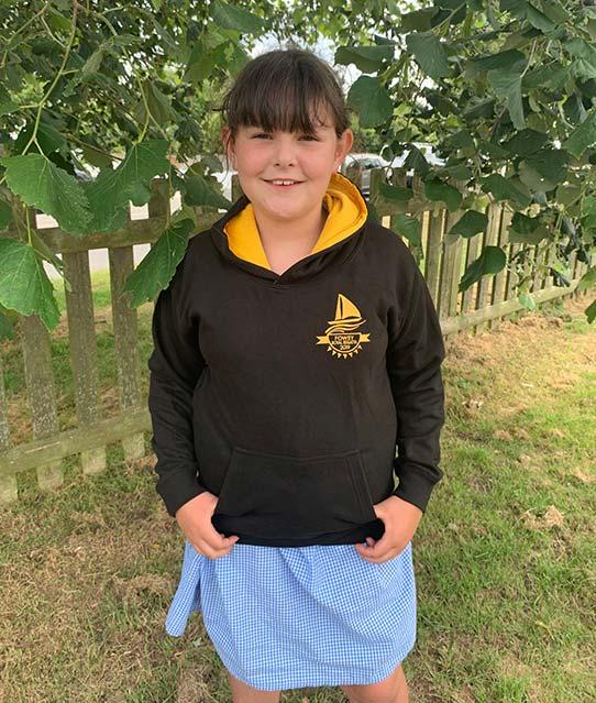 Fowey Regatta 2019 child hoodie main