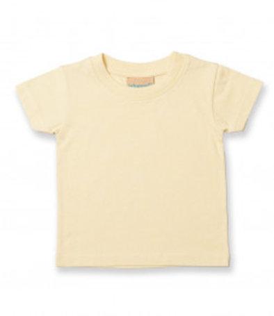 Pale yellow baby T-shirt