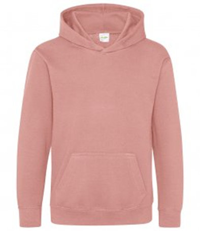 Dusky pink child hoodie