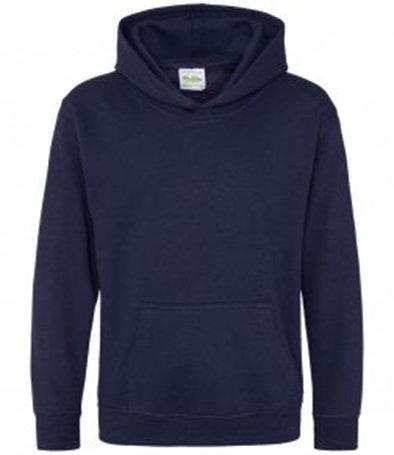 Navy blue child hoodie