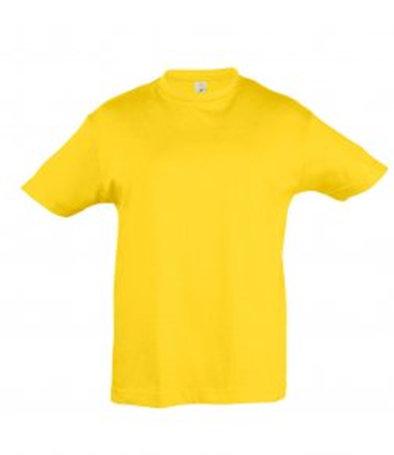 Gold child T-shirt