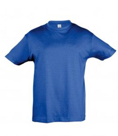 Royal blue child's t-shirt